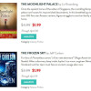 BookBub ran a new special for The Frozen Sky in April.